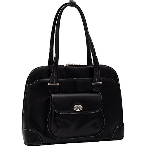 McKleinUSA AVON 96655 Black Leather Ladies' Briefcase