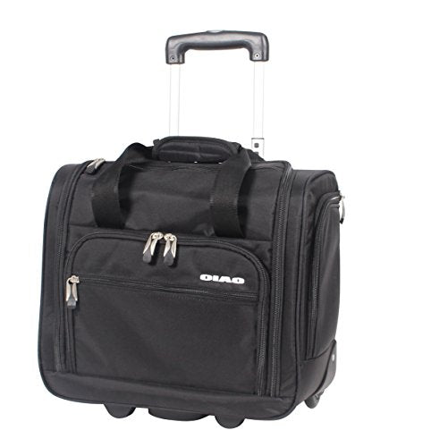 Ciao Carry On Wheeled Under The Seat Bag (Black)