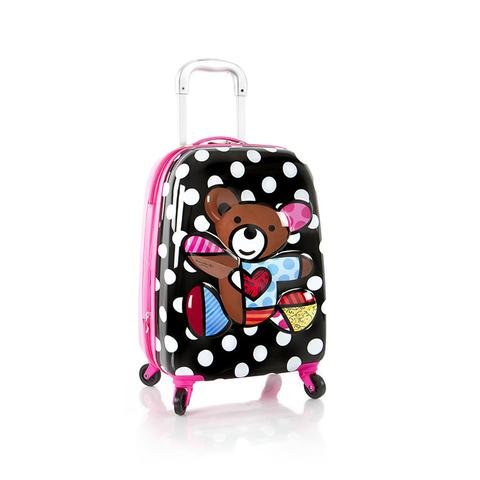 Heys America Britto Tween 3D Pop Up Spinner Luggage (Multi-Britto Heart With