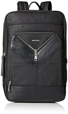 Diesel Men'S Mr. V Zipper Mr. V-Back Backpack I, Black