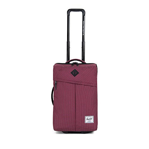 Herschel Campaign Softside Luggage, Windsor Wine Grid