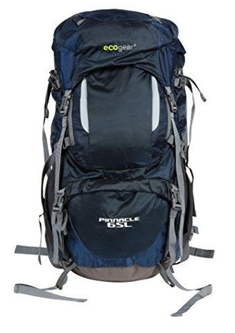 Ecogear Pinnacle 65 Liters Hiking Backpack