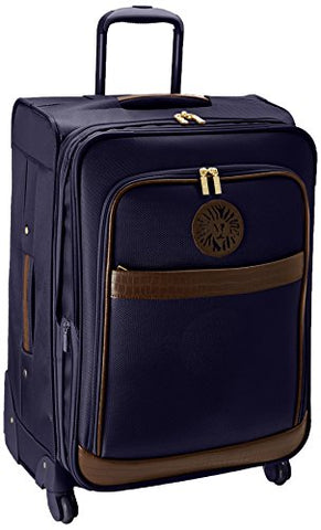 Anne Klein Newport 24 Inch Expandable Spinner, Navy, One Size