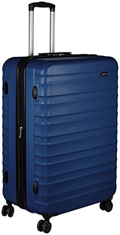 Amazonbasics Hardside Spinner Luggage -  28-Inch, Navy Blue