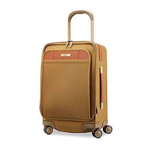 Hartmann Ratio Classic Deluxe 2 Global Carry On Expandable Spinner, Safari