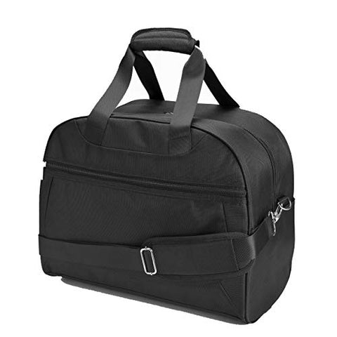 Nylon Overnight Travel Carry-On Personal Item Underseat Boarding Luggage Shoulder Duffel Bag