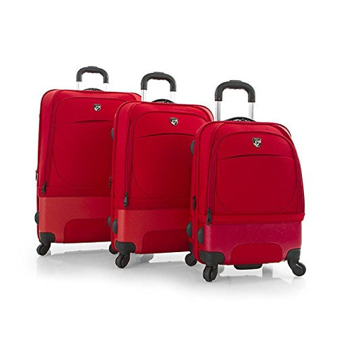 Heys America Spin-Air II 3pc Spinner Luggage Set (Red)
