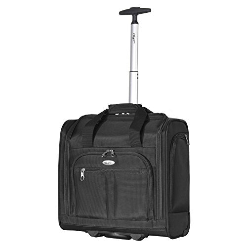 Olympia Under The Seat Carry-On, Black