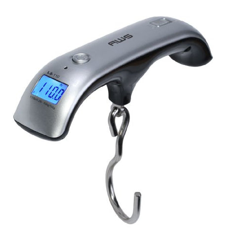 American Weigh Scales AMW-LS-110 Digital LuGGaGe Scale, 110 by 0.2 LB