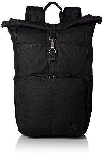Timberland Men'S Walnut Hill Roll Top Backpack, Black