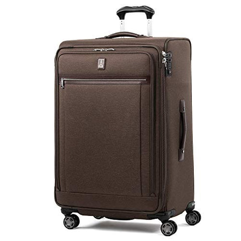 "Travelpro Luggage Platinum Elite 29"" Expandable Spinner Suitcase w/Suiter, Rich Espresso"