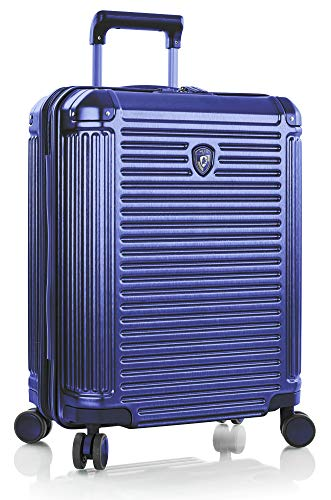 "Heys America Edge Technology Fashion 21"" Carry-on Spinner Luggage With TSA Lock (Cobalt Blue)"