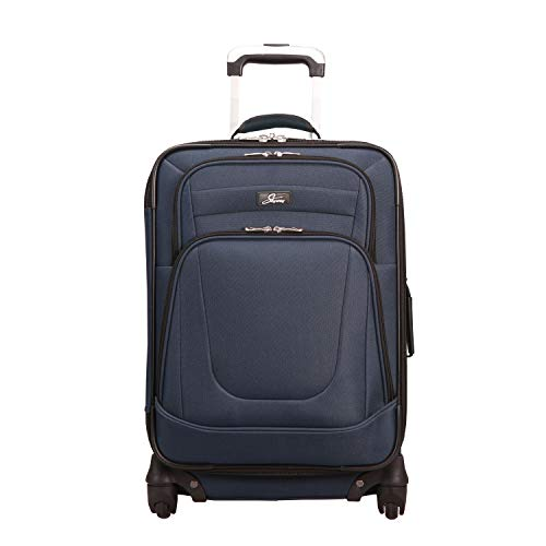 Skyway Epic 20 inch Expandable 4-Wheel Carry-On, Surf Blue