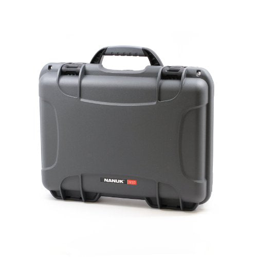 Nanuk Professional Gun Case, Military Approved, Waterproof And Shockproof - Graphite