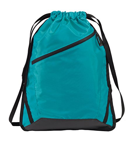 Gravity Travels Zip-It Cinch Pack Bag - Tropic Blue/Black