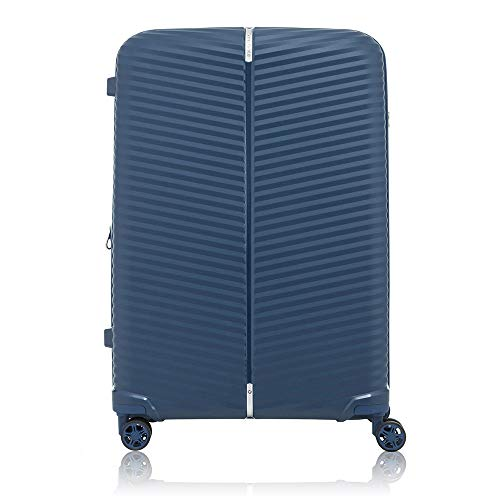 Samsonite Varro Spinner 75/28 Carry-On Luggage Large Blue Suitcase