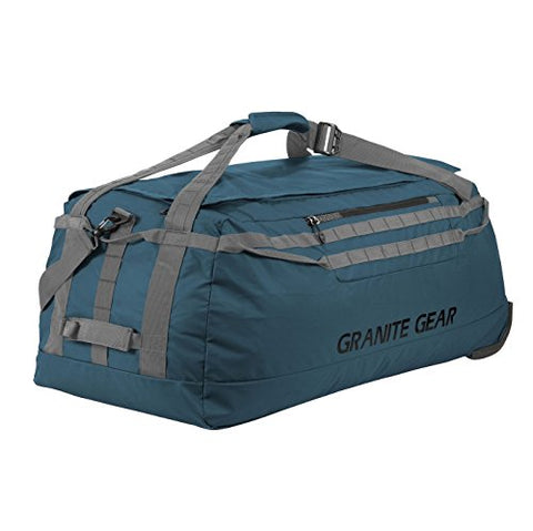 "Granite Gear 36"" Wheeled Packable Duffel - Basalt/Flint"