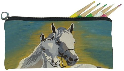 Salvador Kitti Small Pencil Bag (Horse - A Mother'S Love)