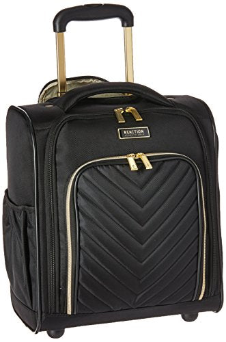 Kenneth Cole Reaction Women's Chelsea Underseater Carry-on Luggage, Black