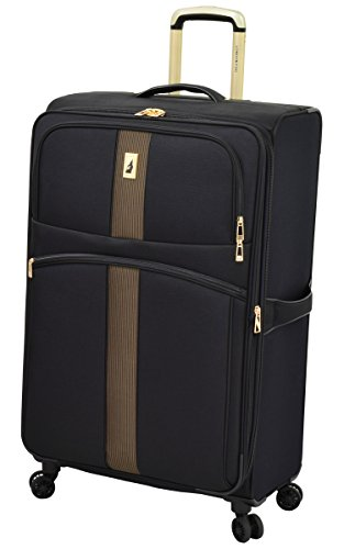 "London Fog Langley 29"" Expandable Spinner, Black"