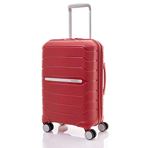 Samsonite Octolite Spinner Carry-On Luggage Large Red Suitcase