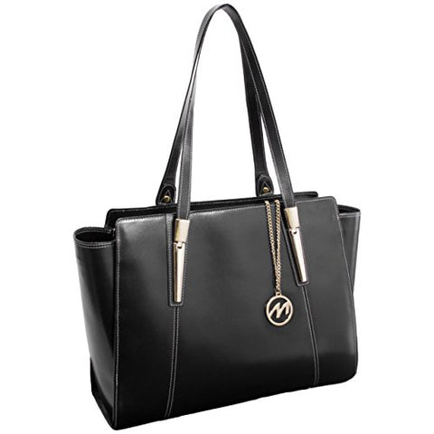 Mckleinusa Aldora 97505 Black Leather Women'S Business Tote