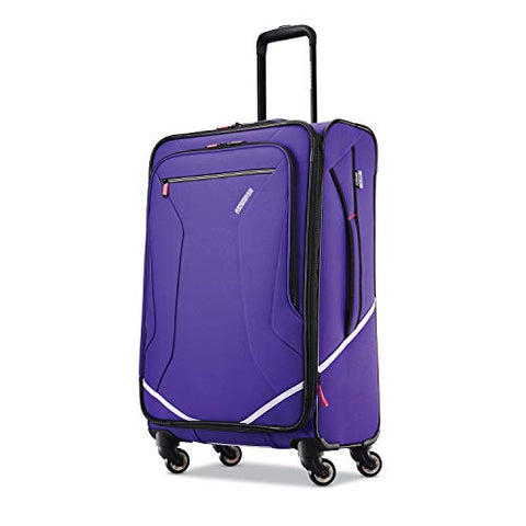 American Tourister Re-Flexx Expandable Softside Checked Luggage with Spinner Wheels, Fearless