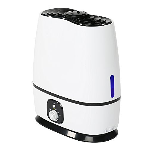 Everlasting Comfort Ultrasonic Humidifier (6L) - Built-In Oil Diffuser, High Mist Output,