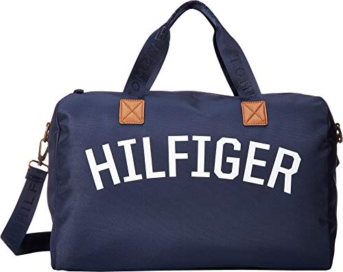 Tommy Hilfiger Men's Zachary Cordura Nylon Duffel Tommy Navy One Size