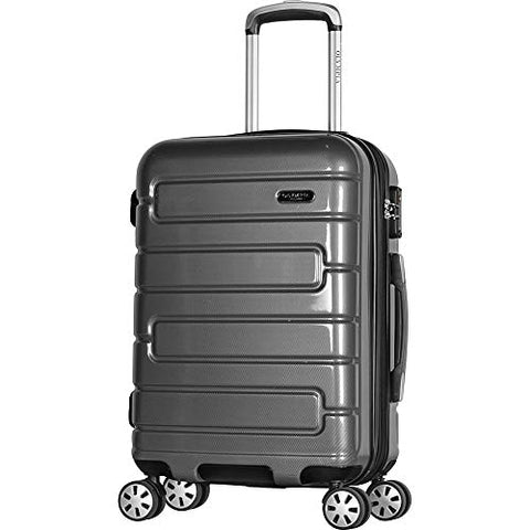 "Olympia Nema 22"" Exp. Carry-on Spinner, Black"