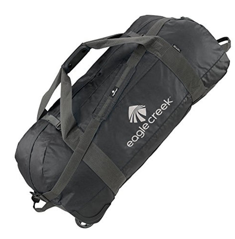 Eagle Creek Travel Gear No Matter What Flashpoint X-Large Rolling Duffel, Black, One Size
