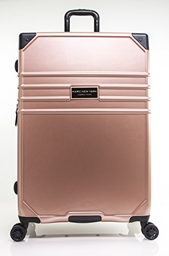 "Marc New York Classic 28"" Expandable Hardside Spinner, Rose Gold"