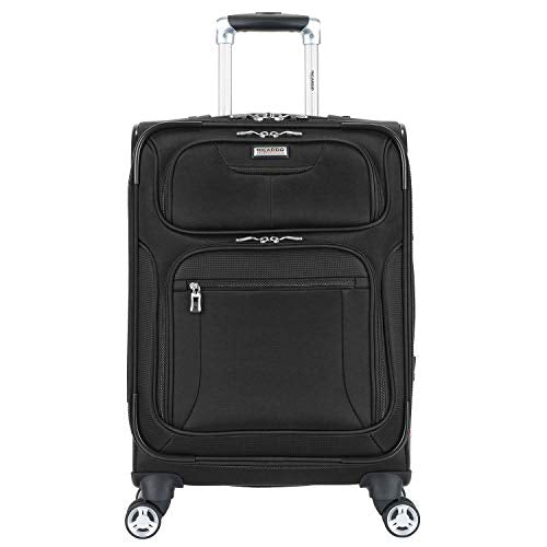 "Ricardo Beverly Hills 22"" Silverlake Spinner Luggage - Black"