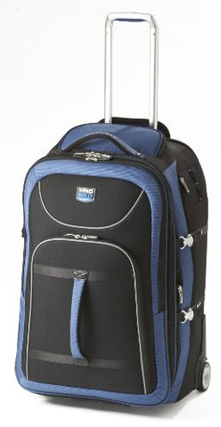 Travelpro Luggage T-Pro Bold 28 Inch Expandable Rollaboard Bag, Black/Blue, One Size