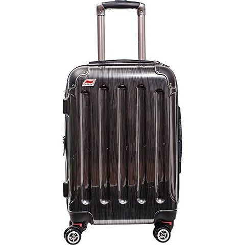 "Andare Barcelona 24"" 8 Wheel Spinner Upright (Pewter)"