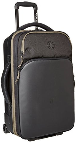 Volcom Men'S Day Tripper Rolling Bag, Black, One Size