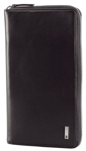Victorinox Men'S Altius 3.0 Cortina Leather Travel Organizer, Black, One Size