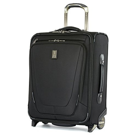 "Travelpro Luggage Crew 11 20"" Carry-on International Rollaboard w/USB Port, Black"