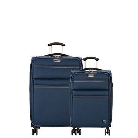 Ricardo Beverly Hills Mar Vista 2.0 2 Piece Spinner Luggage Set | 21 And 25 (Moroccan Blue)