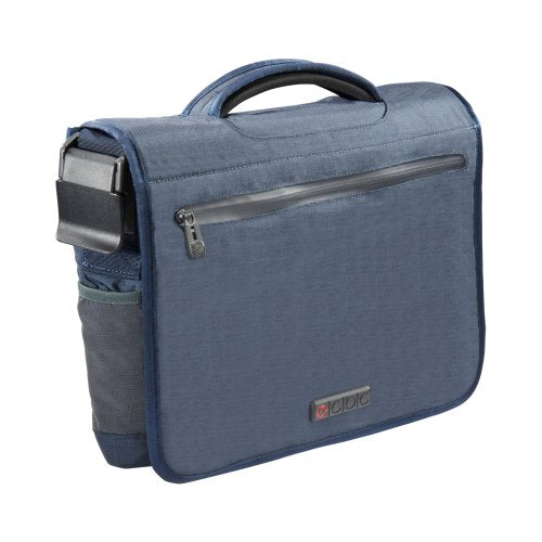 ECBC Poseidon Messenger Bag for 13-Inch Laptop, Blue