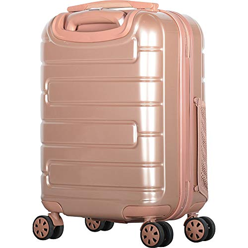 "Olympia USA Nema 18"" Under the Seat Carry-On Spinner (Rose Gold(RGD))"