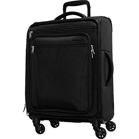 eBags eTech 3.0 Softside Spinner Carry-On (Black)