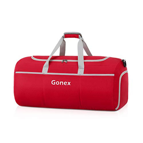 Gonex 50L Packable Travel Duffle, Lightweight Luggage Duffel Sports Gym Bag with Shoe Compartment