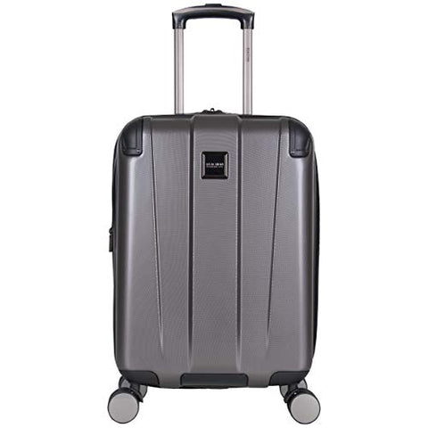 "Kenneth Cole Reaction Continuum 20"" Hardside 8-Wheel Expandable Upright Carry-on Spinner Luggage,"