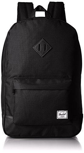 Herschel Supply Co. Heritage, Black/Black, One Size