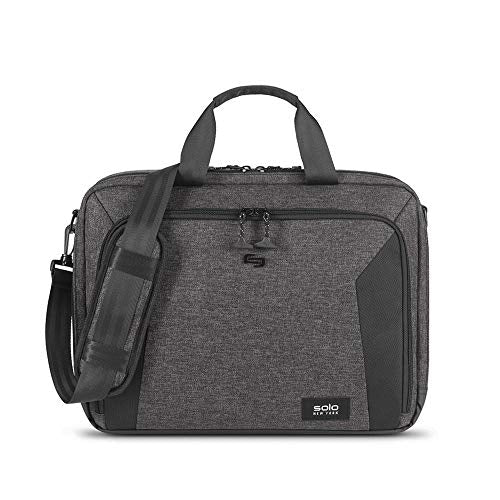 SOLO Nomad Route Slim, 15.6 inch Laptop Bag, Lightweight Briefcase with Shoulder Strap for Women, Men