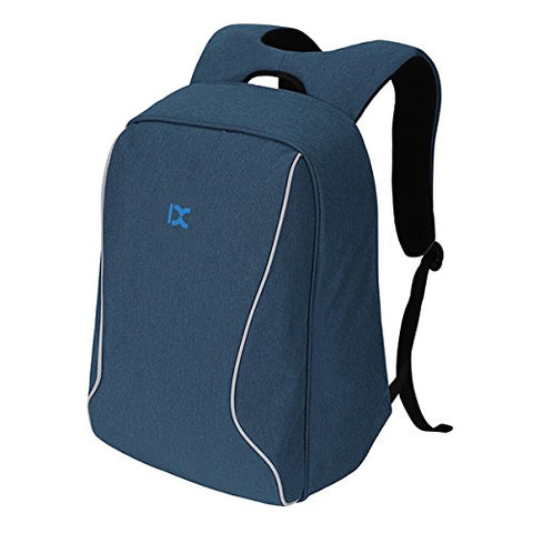ABage Anti-theft Backpack Travel College Student School Backpack Fits 15.6 inch Laptop, Blue