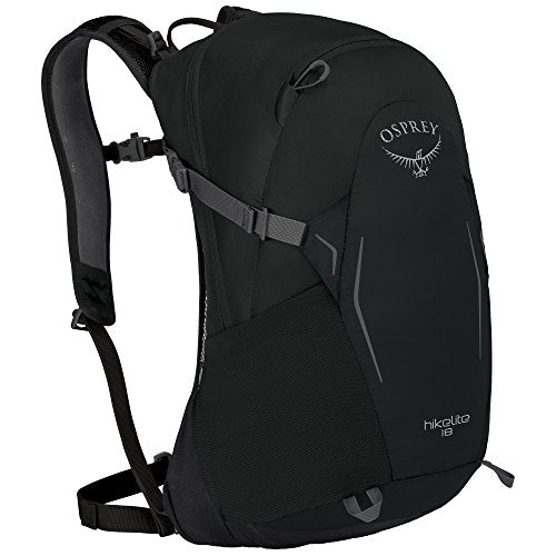 Osprey Packs Osprey Pack Hikelite 18 Backpack, Black, One Size