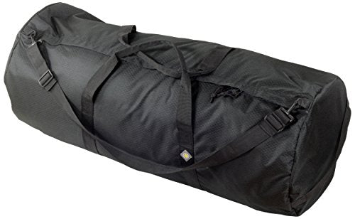 Northstar Sports 1050 HD Tuff Cloth Diamond Ripstop Series Gear and Duffle Bag, 16 x 40-Inch, Midnight Black