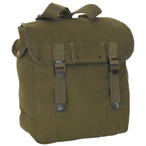 Fox Outdoor Products Musette Bag, Olive Drab, 15 x 15-Inch